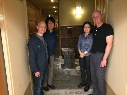 Tokiko, Pierre, Yasuko & Philippe