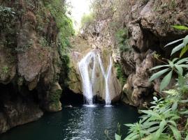 Waterfall at El Cubano