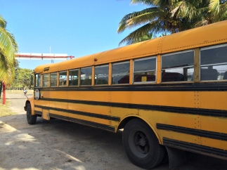 School bus for divers