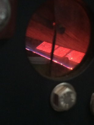 Inside the roaster