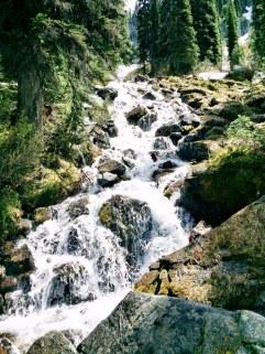 Stream on the rocks
