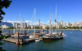 Small port in Vancouver