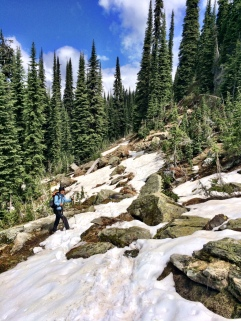 Managing snow patches