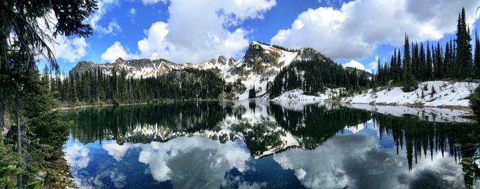 Postcard lake view!