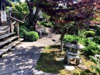Japanese garden of Memorial Center