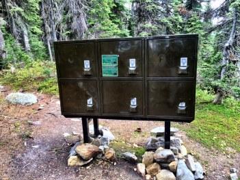 Anti-bear food locker