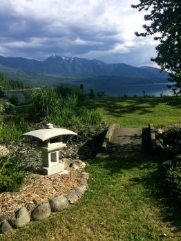 Kohanso, Zen garden at the lakeside