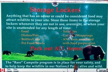 Anti-bera food locker