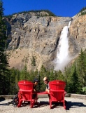 Takakkaw Falls, after the walk
