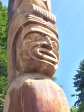 Totem at the Stanley Park