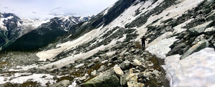 Snowfield in June - a surprise