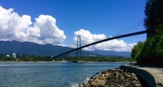 Bridge to West Vancouver