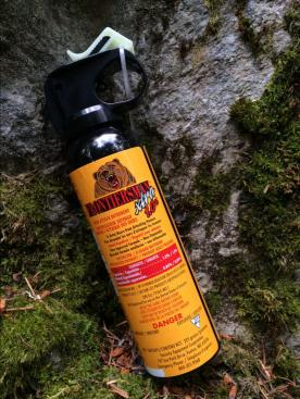 Anti-bear spray