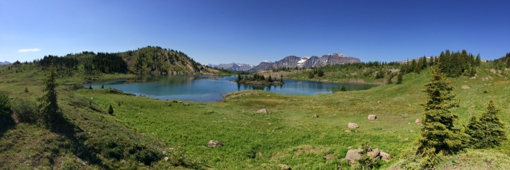 Rock Isle Lake, Sunshine Meadows