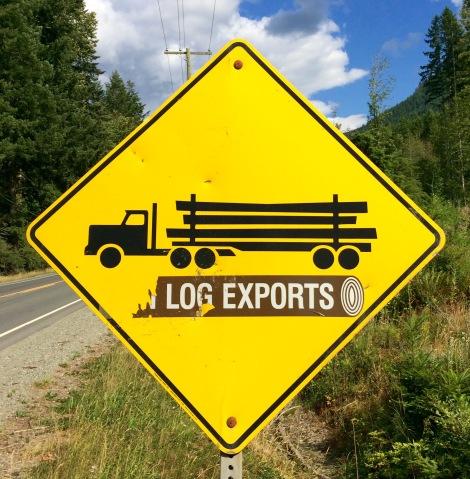 Danger, Logging Trucks!
