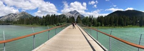 Bridge over Bow River, Banff