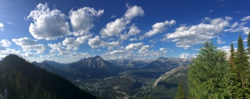Banff view from the top