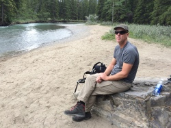 Lunch break at Bow River