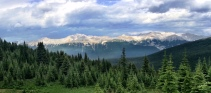 Great Rockies panoramic view