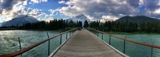 Bridge to the town