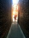 Phililppe standing in Fan Tan Alley