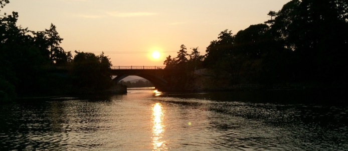 Sunset at the Gorge Waterway