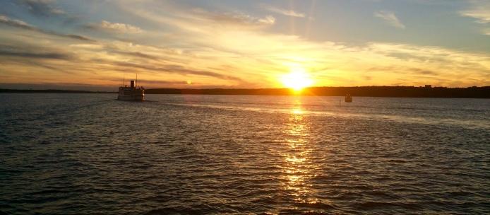 Sunset @ Voxholm