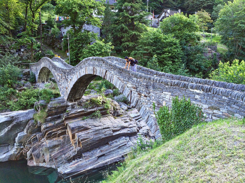 Roman bridge, Verzasca