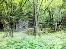 Abandoned stone house..