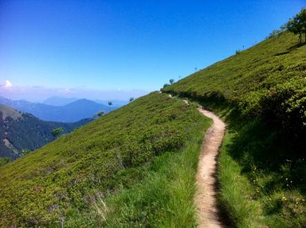 Beautiful ridge walk