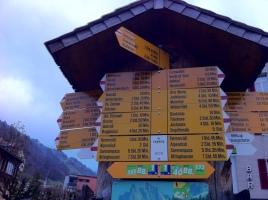 Starting point, Engelberg, 1000m, still in the mist