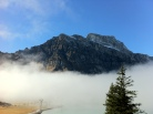 Arrived at Trübsee covered in the fog
