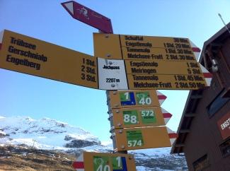 Jochpass - a ski station
