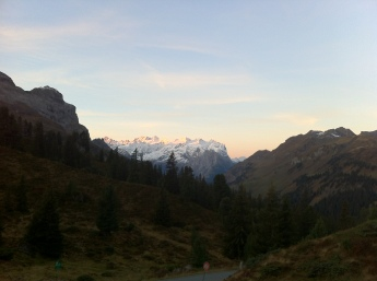 Wetterhorn, a fantastic view from the hotel,