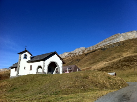 A charming mountain village Tannalp