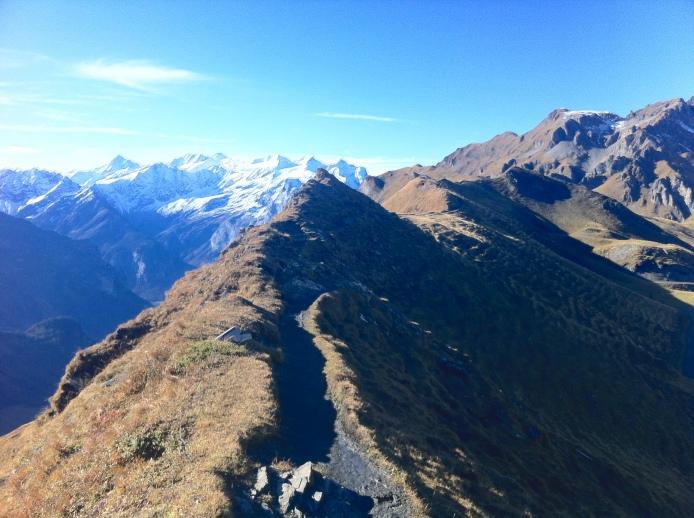 A ridge walk