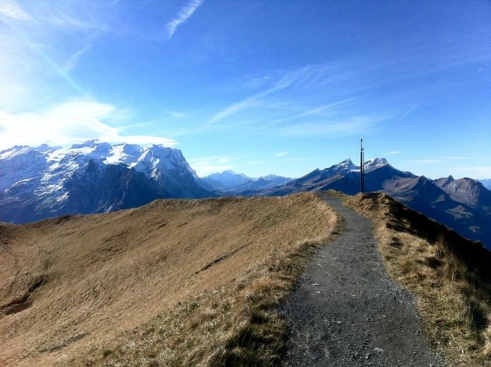 A view from Planplatten