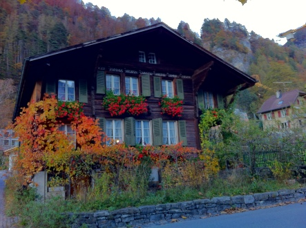 A beautiful house in Meiringen