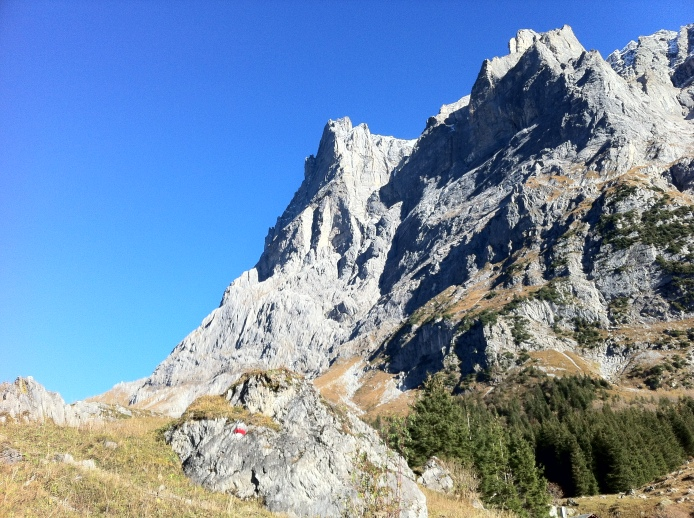 Going down from Grosse Scheidegg