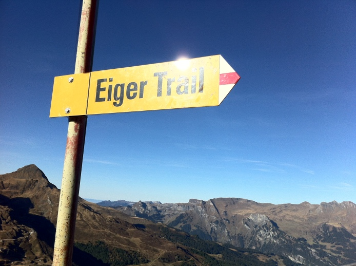 Start of the Eiger Trail