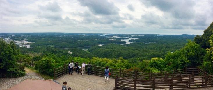 Yokoyama Viewpoint, looking over the Ago Bay