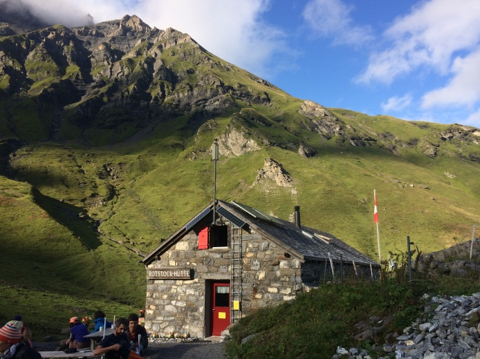 Rotstockhütte (2039m), tonight's sleeping place