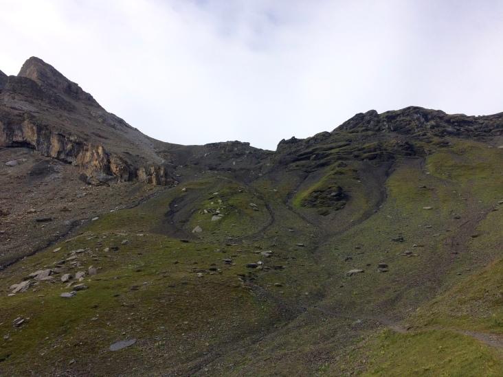 Last uphill to Sefinenfurgga
