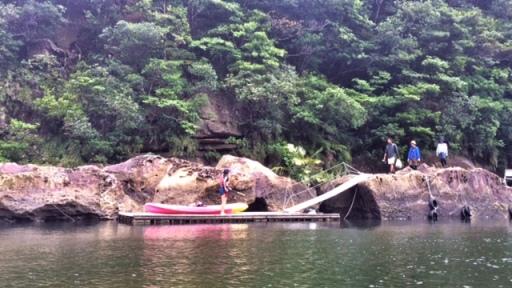 Up river dock