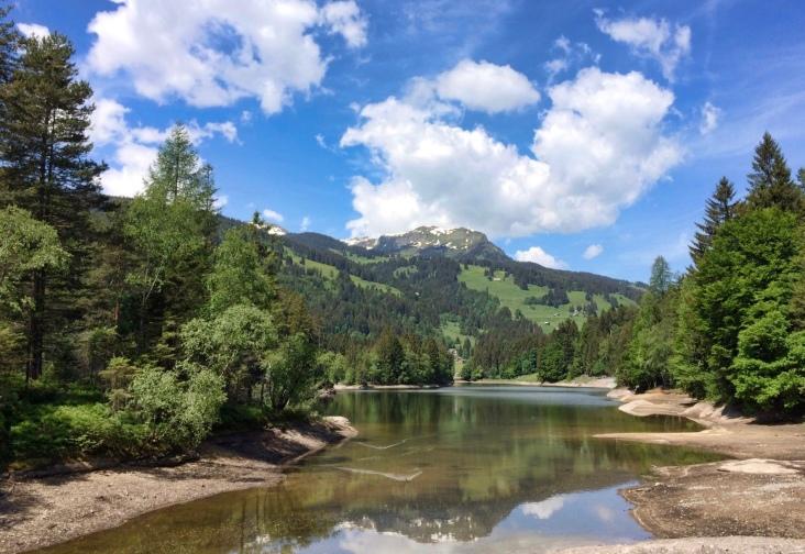 Chapfensee at 1030m