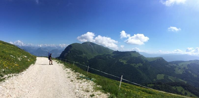 Almost on Monte Altissima