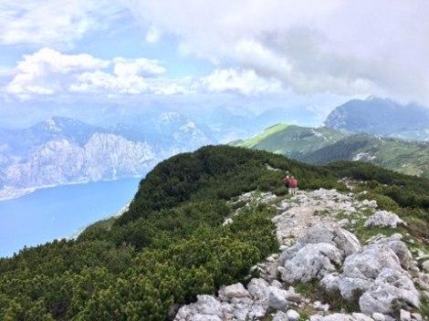 Rocky ridge walk