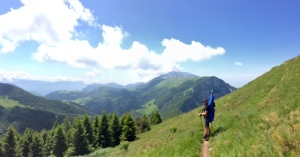 On the slope of Mt. Laste