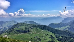 """""""Shinto J"""" on Monte Altissimo"""