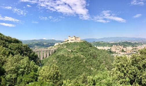 Fortress and bridge